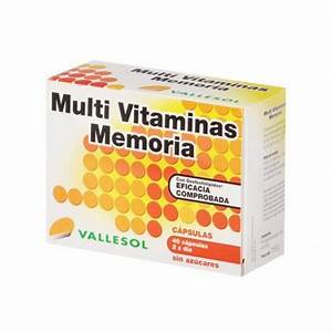 Vallesol multivitaminas memoria 40 caps